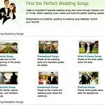 "Wedding Wire's ""Find the Perfect Song"""