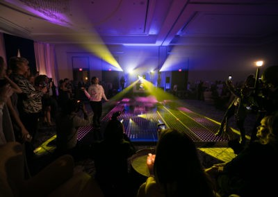 LED Motion Graphic Dance Floor