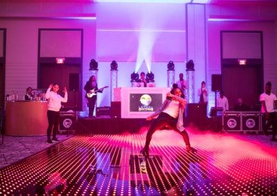 LED Motion Graphic Dance Floor
